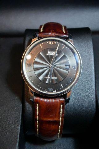 Mido Baroncelli Iii Analoge Automatikuhr Chronometer, Bild