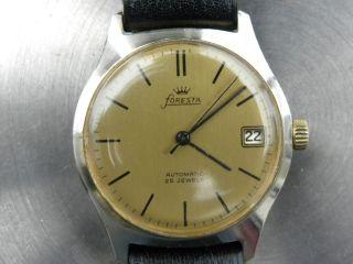 Foresta Automatic 25 Jewels Guter Zustd. Bild