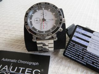 Nautec Swiss Made Racing Automatic - Chronograph Eta Valjou 7750 Bild