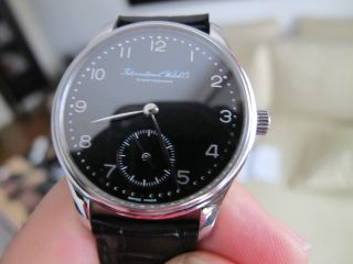 Mens Iwc Small Portuguese 35mm Automatic Stainless Steel Watch 3531 Bild