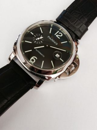 Parnis Automatik Armbanduhr Bild