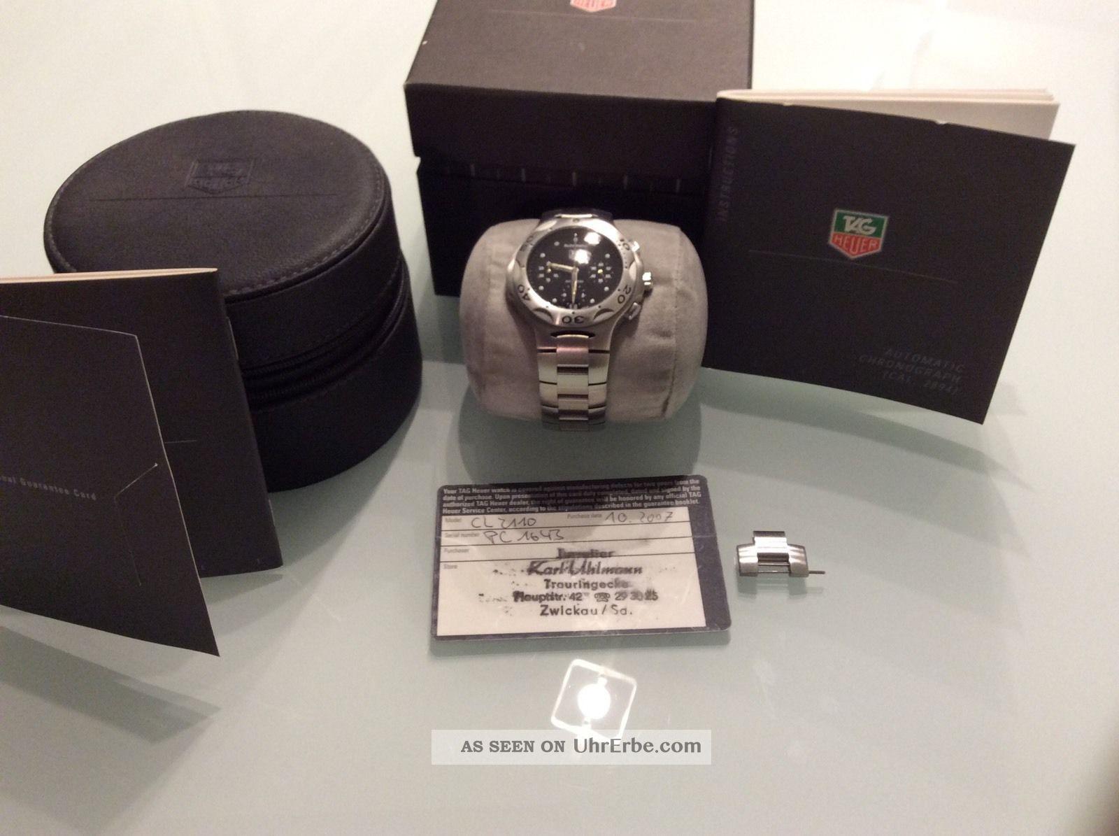 Tag Heuer Automatik Armbanduhren Bild