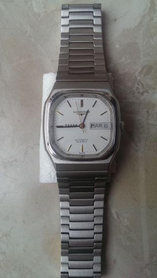 Longines Admiral 5 Sterne Automatic Armbanduhr Bild