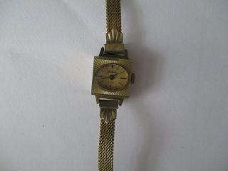 Armbanduhr (damen) Glashütte Gub Handaufzug Von Ca.  1960 Bild