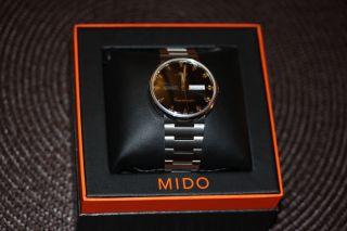 Mido Comander Automatic Daytoday Handaufzug Wie Ungetragen Klassiker Bild