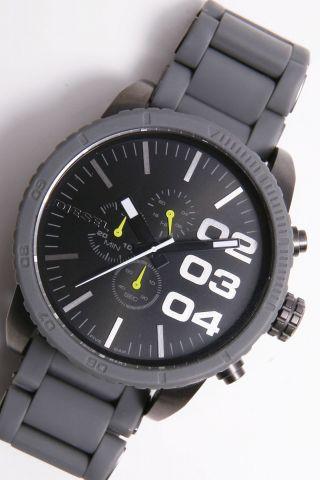 Diesel Herren - Armbanduhr Xl Chronograph Quarz Uhr Dz 4254,  Grau Bild