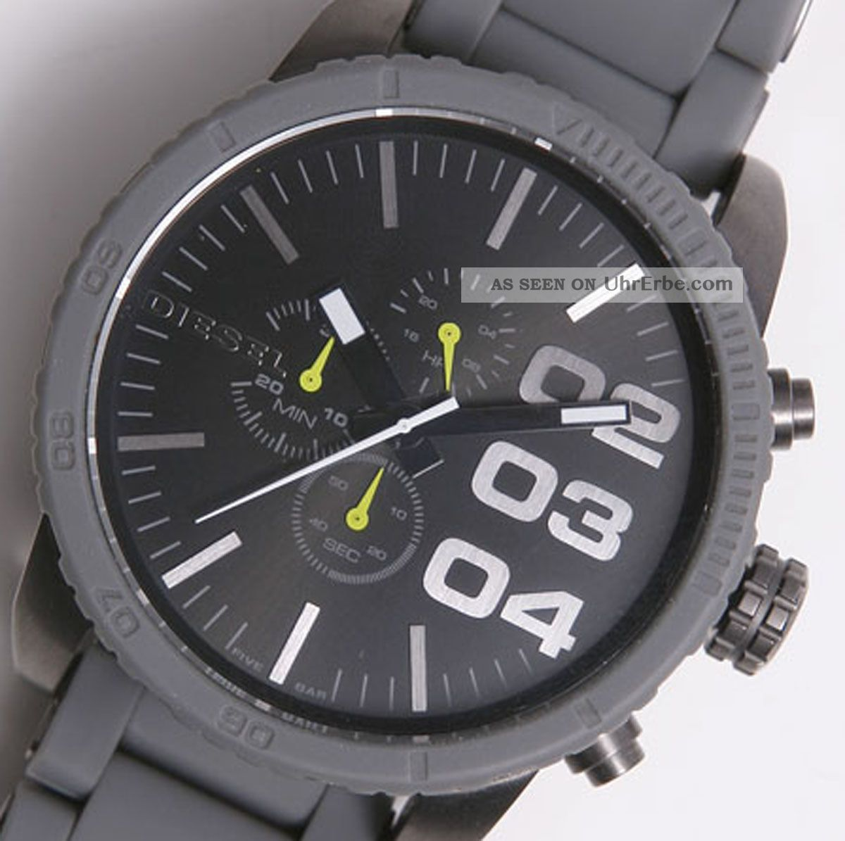 diesel herren armbanduhr xl chronograph quarz uhr dz. Black Bedroom Furniture Sets. Home Design Ideas