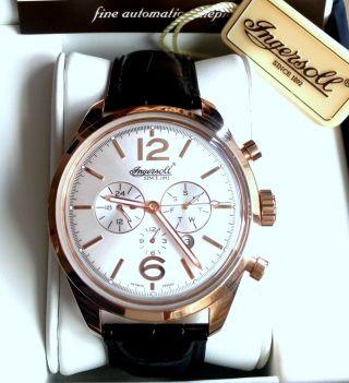 Ingersoll Huntington Automatik Leder Armband Uhr