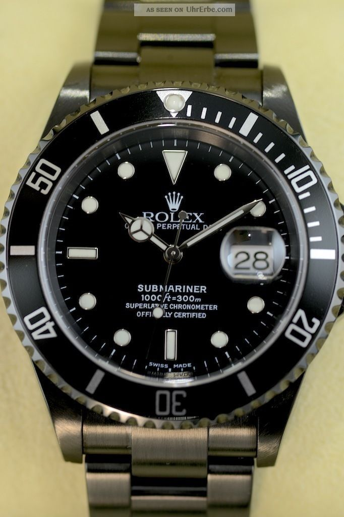 rolex submariner date dlc schwarz. Black Bedroom Furniture Sets. Home Design Ideas