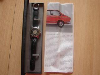 Bmw Armbanduhr 2002 Ti Tachometer Watch Edition 12 Bmw Sammlerstück Bild