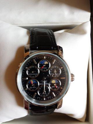 Royal Swiss Automatikuhr Mit 6 Zeitzonen,  Worldtimer,  Herrenuhr