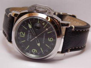 Herren Armband Uhr Marina Militare Parnis Gmt Automatic Bild