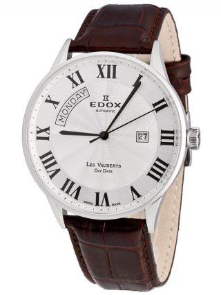 Edox Les Vauberts Day Date Automatic 83010 3b Ar Bild