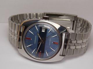 Vintage Herren Armband Uhr Exponent Automatic Lorsa P 75 A Bild
