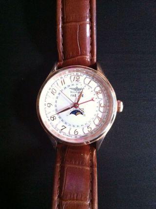 Breytenbach Bb4415 Armbanduhr Für Herren - Echt Leder - Automatik Bild