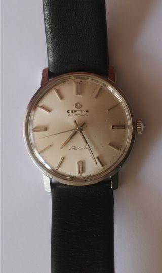 Certina Automatik Art Herren Armbanduhr Bild