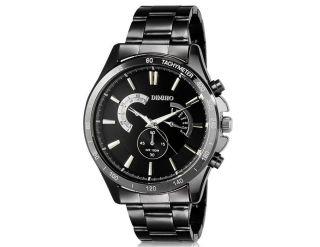 Diniho 8011g Herren Armbanduhr Handaufzug Wrist Watch Mit Woche Anzeige Schwarz Bild