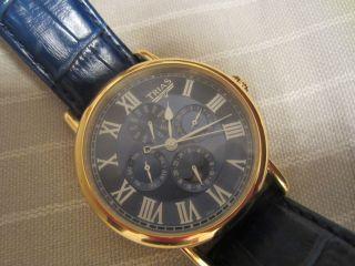 Sehr Gut Erhaltene Herrenarmband - Uhr Von: Trias Bild