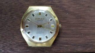 Vintage Kienzle Swiss 21 Jewels Eta 2451 Automatic Herrenarmbanduhr Bild