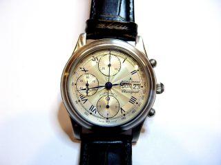 Jacques Lemans Uhr Mit Eta Valjoux 7750 Werk Bild