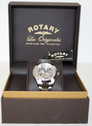 Rotary Herren Armbanduhr Les Originales Jura Gb90514/21 Automatik Uvp 695,  00€ Bild