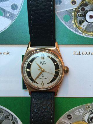 Gub Kaliber 60.  3 Glashütte Mit Box Und Zertifikat Lange & Söhne Bild