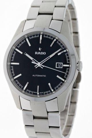 Rado Hyperchrome Automatik R32115153 Herren Stahl/ceramos Black Dial Box&papiere Bild