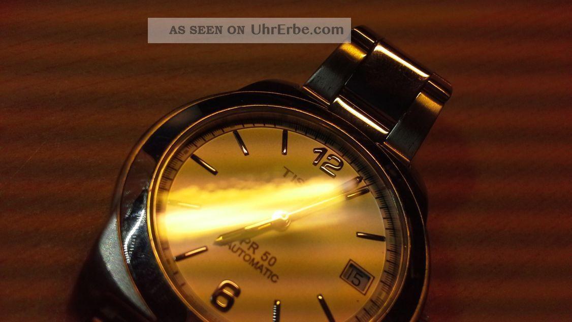 tissot pr 50 automatik uhr automatic watch. Black Bedroom Furniture Sets. Home Design Ideas