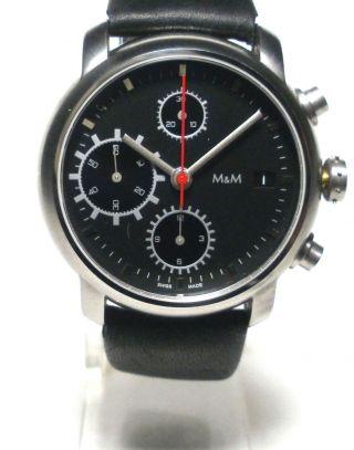 M&m - Herren Automatic Chronograph - Kal.  Valjoux / Eta 7750 - Neuwertig Bild