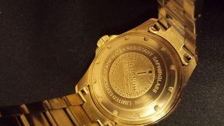 Herrenuhr,  Insignum - Diver Gold,  Herrenarmbanduhr,  Automatik,  Saphirglas,  30 Atm, Bild