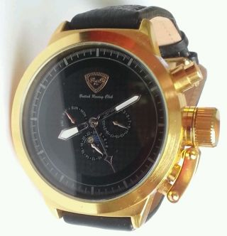 Grose Herrenuhr British Racing Club