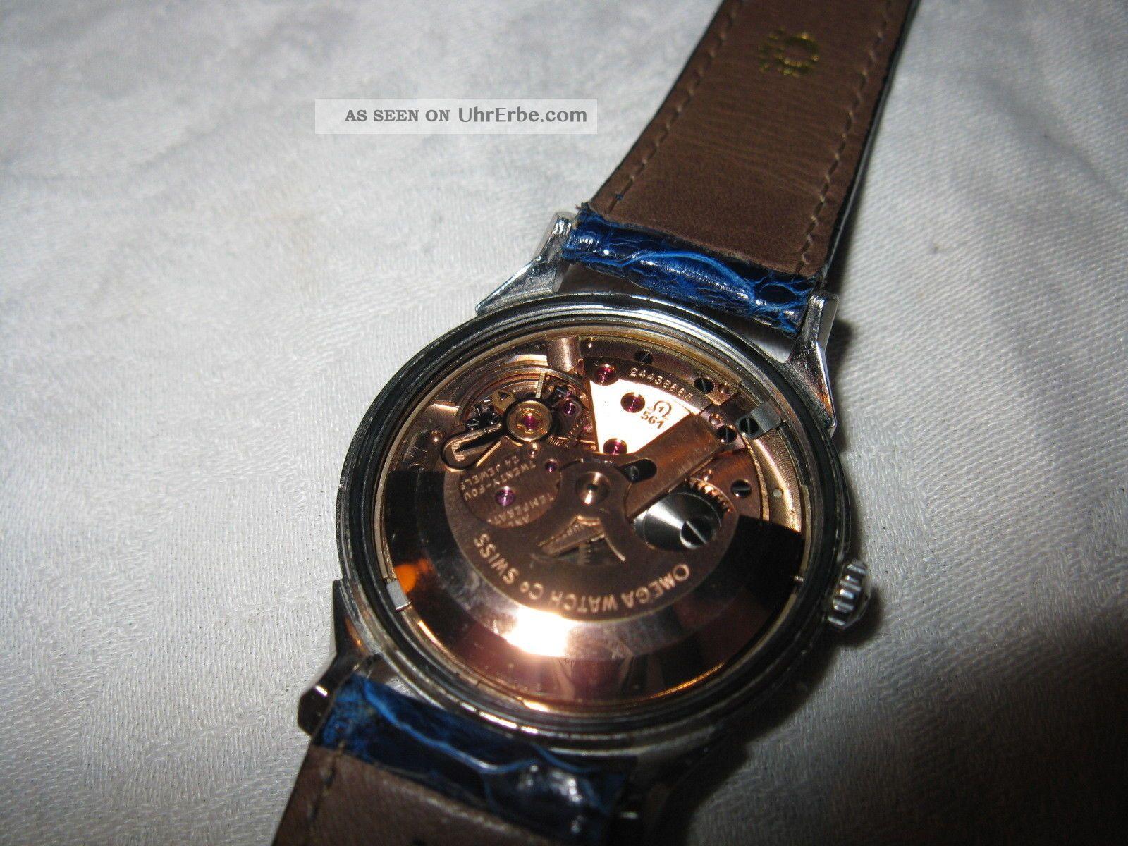 Wunderschöne Omega - Constellation Cal 561 Pie - Pan Armbanduhren Bild