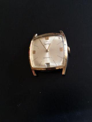 Vintage Zentra Automatic Herrenarmbanduhr Kal.  Puw 1261,  25 Jewels,  Datumsanzeige Bild