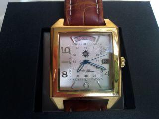 R.  U.  Braun Herrenuhr Automatik - Uhr Vergoldet Bild