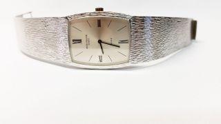 Elegante Classic Patek Philippe Klassik Armbanduhr 18kt Weißgold Ref.  : 3528/3 Bild