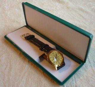 Luch Herrenuhr - Handaufzug 15 Steine - Russisch - Ungetragen,  Uhrenbox Bild