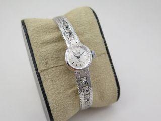 Condor 115 Damen Uhr - Armbanduhr Aus 835er Silber Au Bild