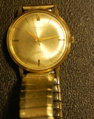 Kienzle Superia 17 Jewels Herrenuhr Armbanduhr Bild