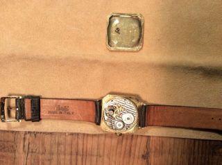 Hamilton Lancaster.  Pa.  Uhr Gold 14k Armbanduhr Gold Herren Uhr Bild