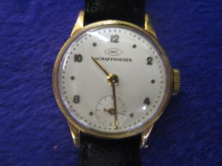 Damenuhr Orig.  Iwc - International Watch & Co.  750er Gold Bild