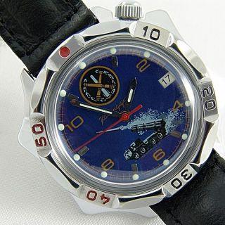 Vostok Komandirskie Raketenwerfer Russische Uhren Slava Raketa Poljot Zarja Bild