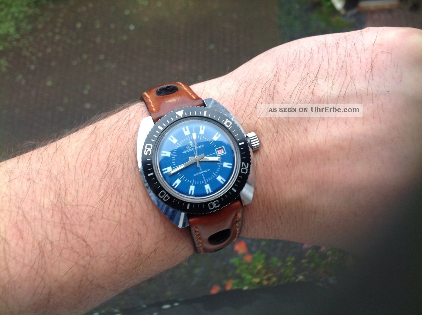 Meister Anker 70ties Vintage Diver Ddr Ostalgie, . Armbanduhren Bild