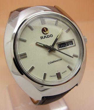 Rado Companion Mechanische Uhr 21 Jewels Datum & Tag Lumi Zeiger Bild