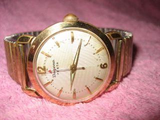Dugena Festa Hau Armbanduhr Goldaufl.  20mik Xsecuringx Bild