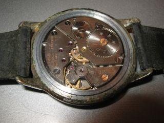 Marvin Chronometer 3 Adjust.  Militer Uhr 1930 - 40 Bild