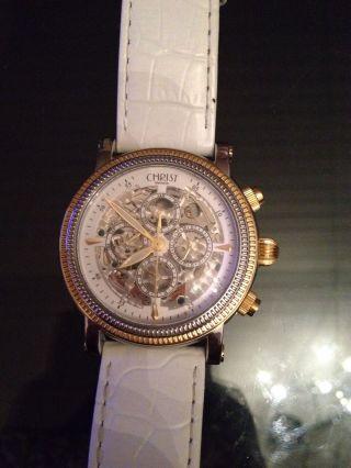 Christ Mechanik Damenuhr Uhr Automatic Armbanduhr Bild
