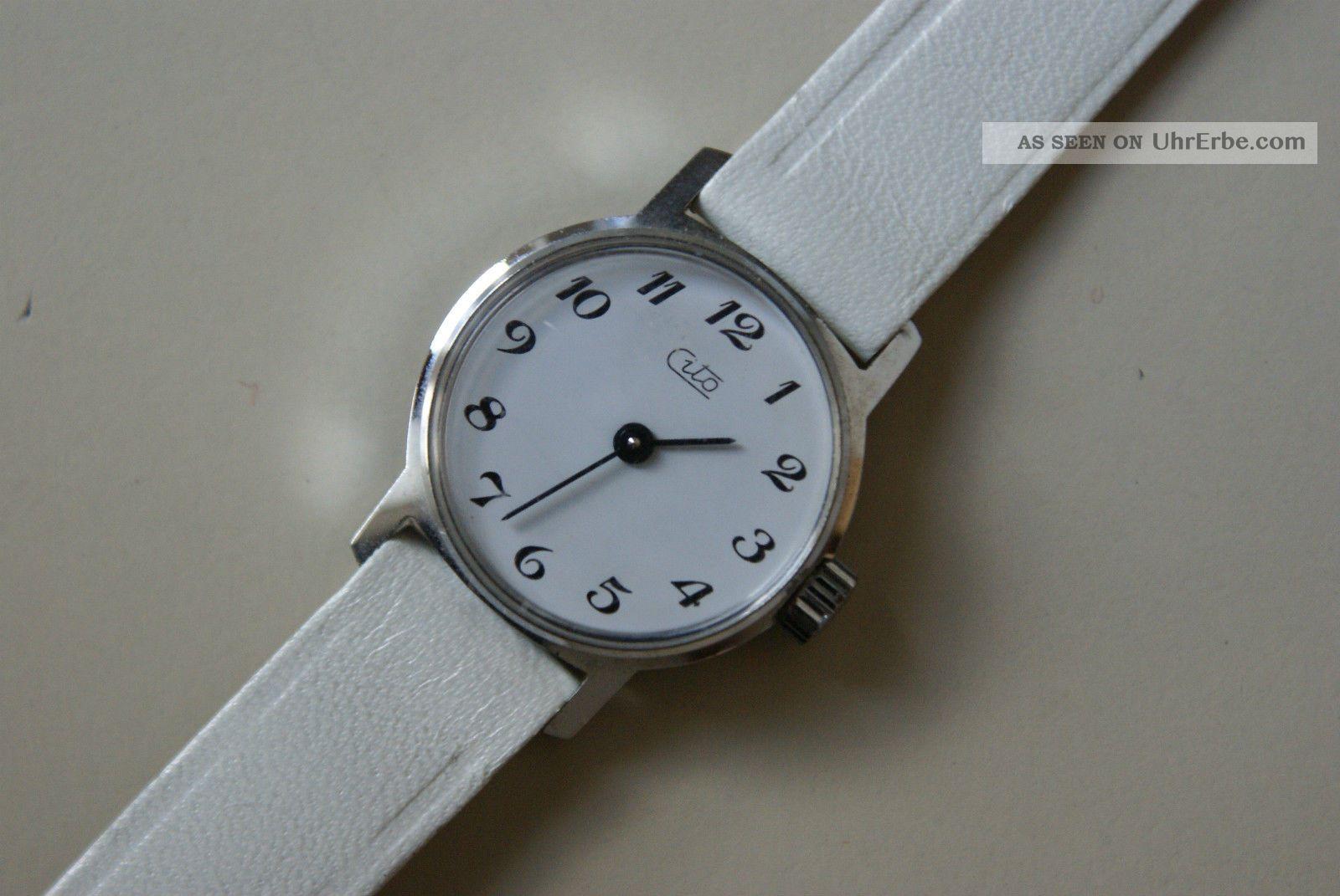 Cito Damenuhr,  Mechaniche Handaufzug,  Läuft Sehr Gut Armbanduhren Bild