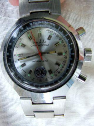 Seltener Ruhla - Chronograf Nva/gst,  Aus Sammlung Bild