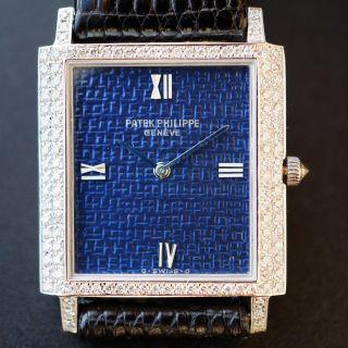 Patek Phillipe Weissgold Herren Uhr 18kt (750) Bild