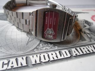 Cimier Digital - Swiss Made - Scheibenuhr Uhrmachernachlass Stuttgart Bild